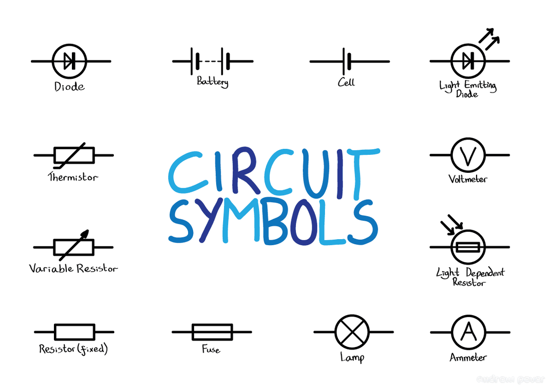 Simple Circuit Diagram Symbols Series Circuits Series Circuit